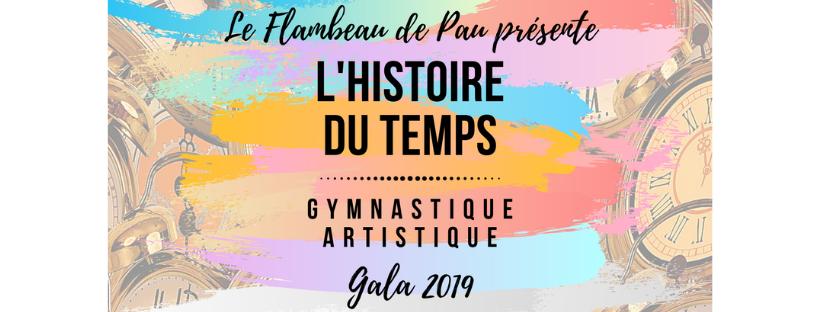 Gala 2019 L'histoire du temps